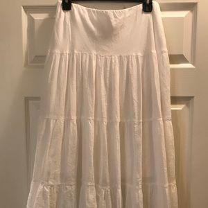 Chaps Cotton Skirt